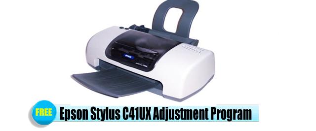 Epson Stylus C41UX Adjustment Program