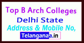 Top B Arch Colleges in Delhi