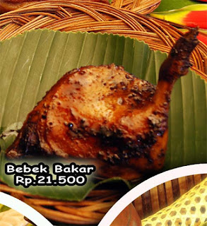 bebek bakar goreng raja sunda masakan khas sunda