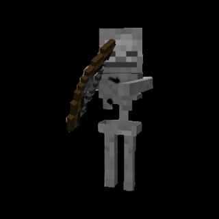 Skeleton From Minecraft