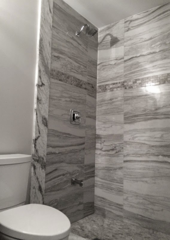 Toronto Porcelain Shower Renovation