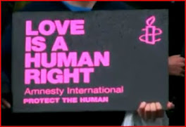 Love is a basic human right