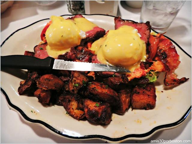 Steak and Lobster BLT Benedict $25