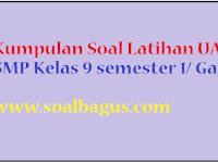 Soal Penjas SMP/ MTs Kelas 9 UAS Semester 1/ Ganjil