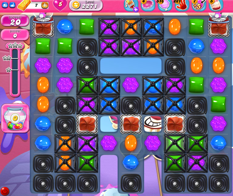 Candy Crush Saga level 2271