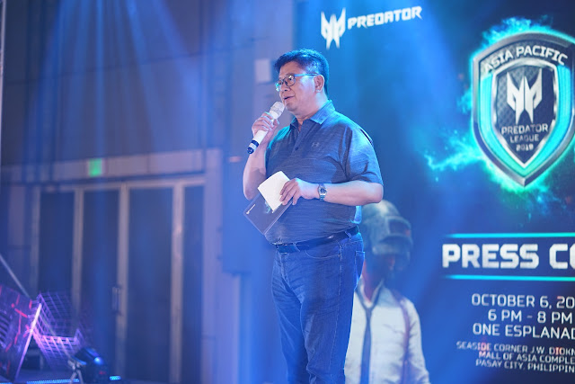 Acer Philippines Managing Director, Manuel Wong