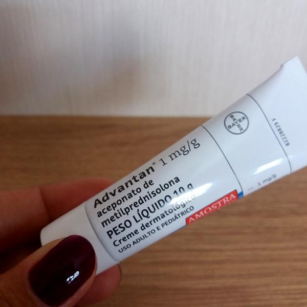 Produto usado no peeling: Creme Advantan
