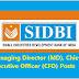 SIDBI Recruitment 2017-2018 Managing Director, CEO Posts
