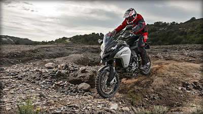 2016 Ducati Multistrada 1200 Enduro off road  Bike pose