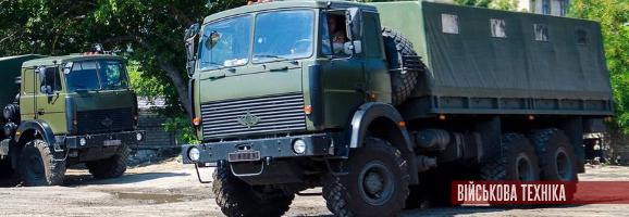 200 вантажівок поставив ЗСУ Богдан у 2018 році