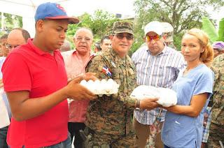 Más de 20 barrios  de Arroyo Cano se benefician con mercado de productores del Inespre
