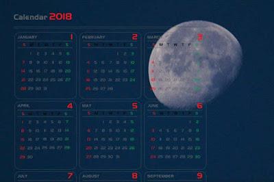 Лунный календарь – все полнолуния 2018 года