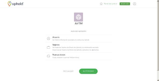 AirTM Procesador de Pagos Online (e-Wallet)
