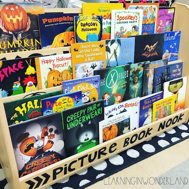 October Books for grades K-5
