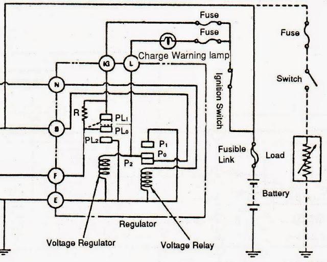 cara kerja regulator pada sistem pengisian konvensional