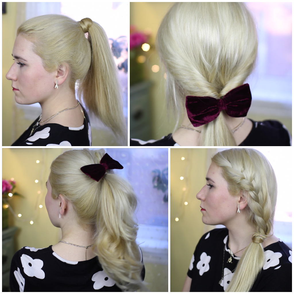 Peachy 15 Ways To Style A Ponytail Mademoiselle Ruta Short Hairstyles Gunalazisus