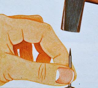 come inchiodare legno