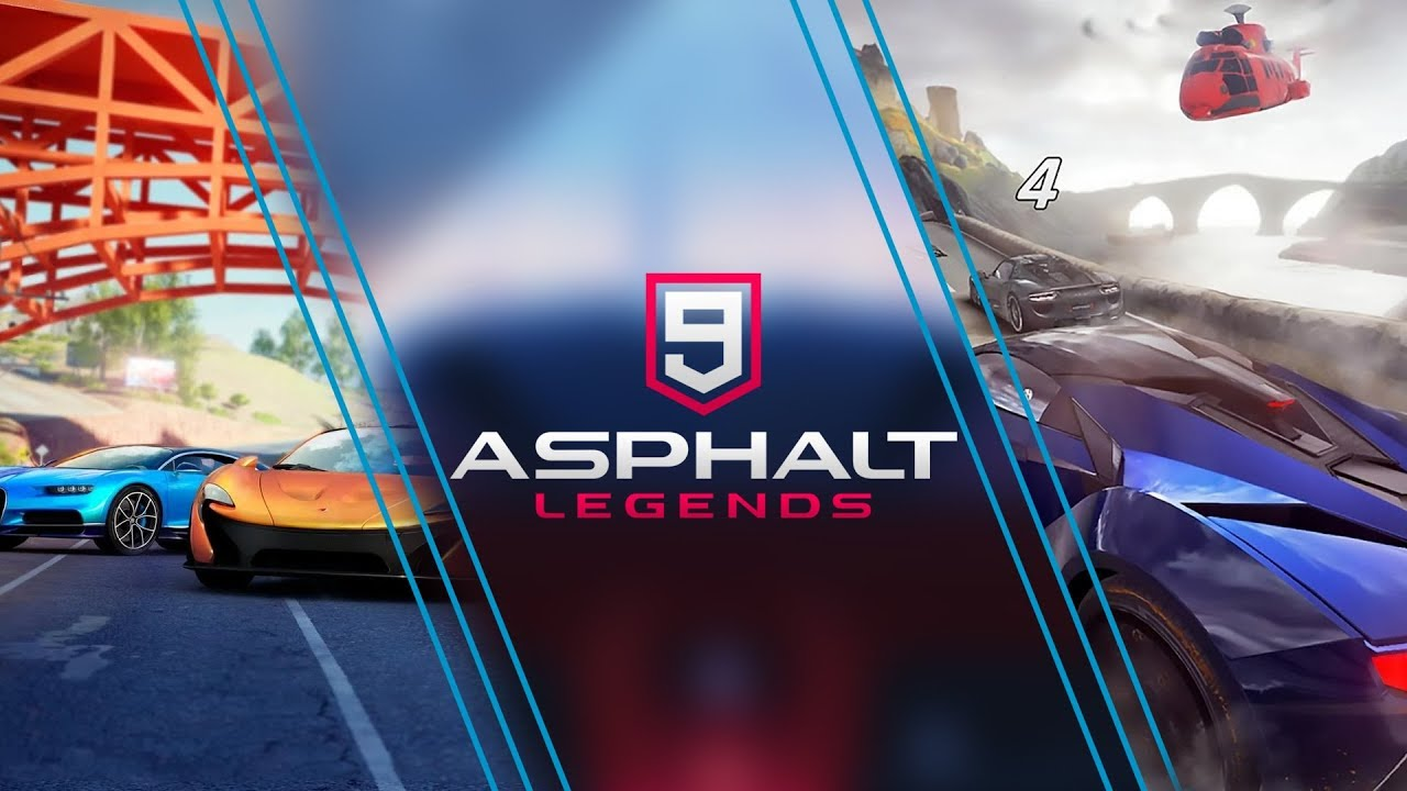 Asphalt 9 Now Available for Android, iOS - RageFor | Gamers First!