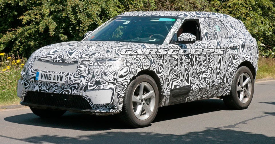 Range Rover Sport Coupe Puts On Camouflage For Nurburgring Run