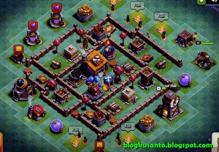 Coc Base Builder Th