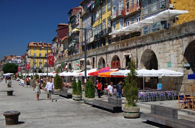 Região da Ribeira no Porto
