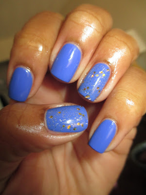 Julep Taylor, blue, human trafficking awareness, blues for a cause. nail art, nail design, mani