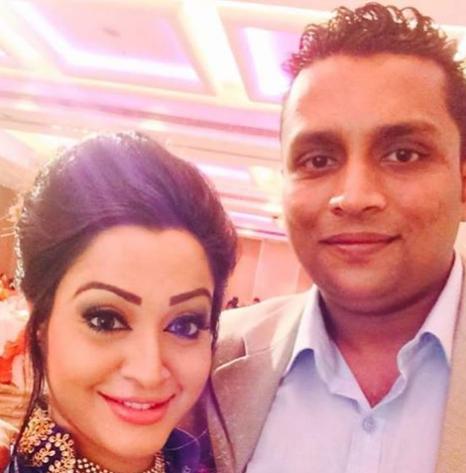 Kaushal Mondavi With Husband