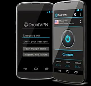 Cara Mudah Internet Gratsis menggunakan Droid Vpn