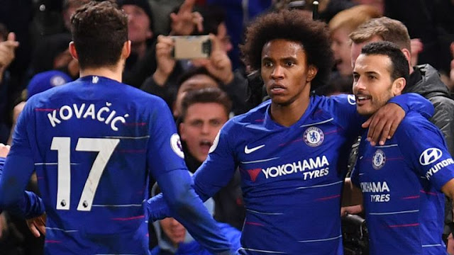 Willian, Kovacic, Pedro Chelsea FC