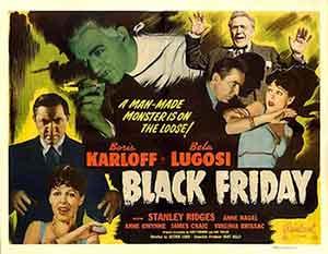 Black Friday, una excelente película protagonizada por Boris Karloff