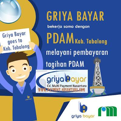 Cara Daftar Griya Bayar Loket Pembayaran PDAM Kabupaten Tabalong Kalimantan Selatan