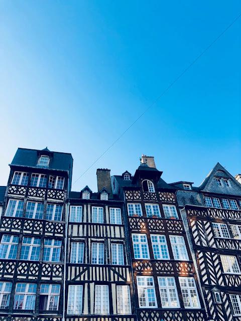 Rennes - Casas Renacentistas