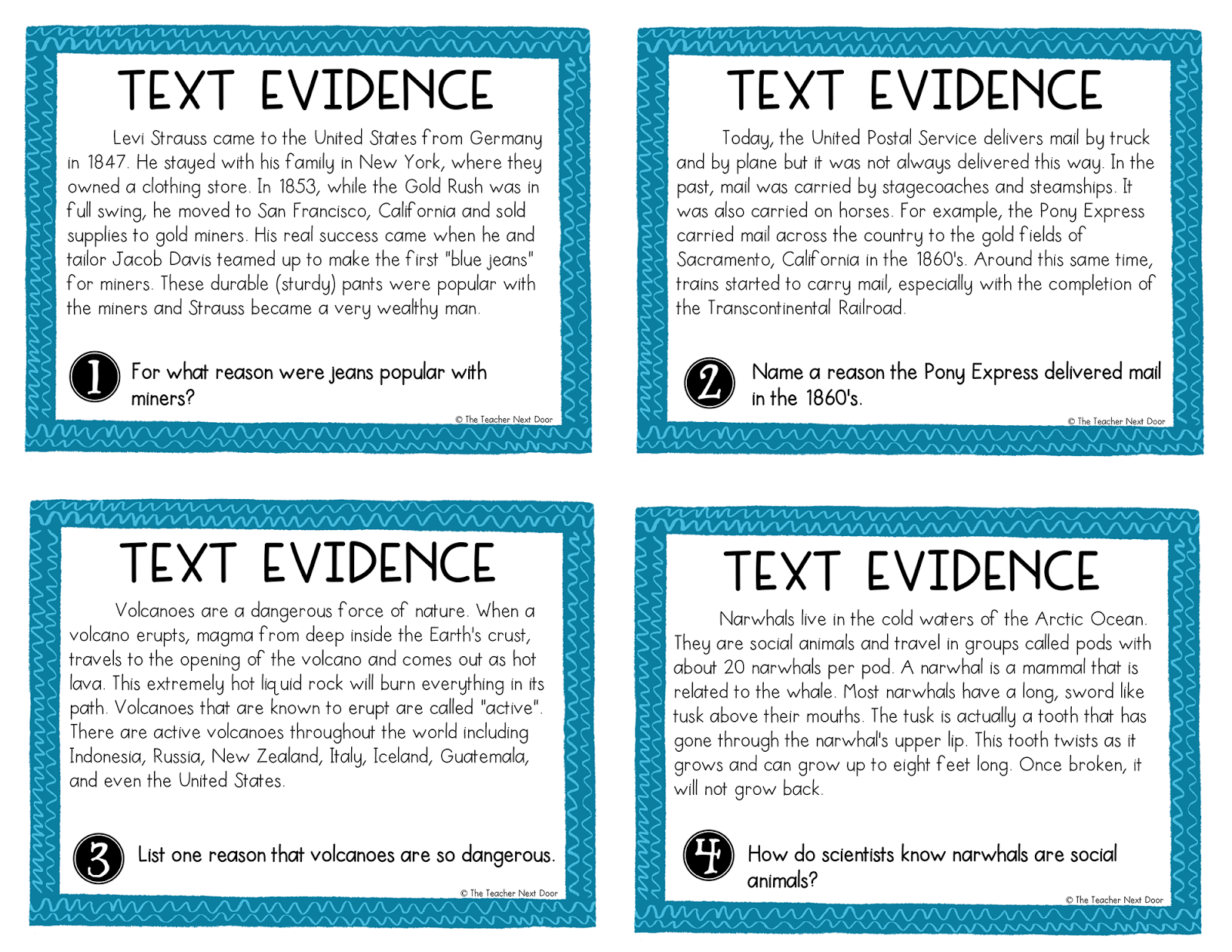 Find The Evidence Worksheet 3rd Grade Answers