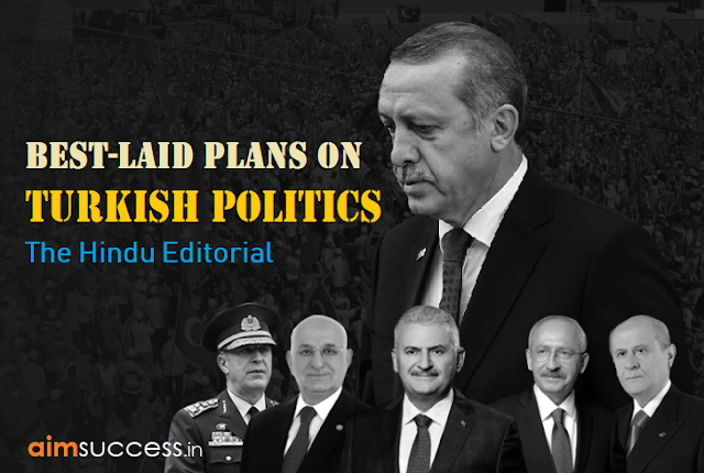 Best-laid plans on Turkish politics The Hindu Editorial