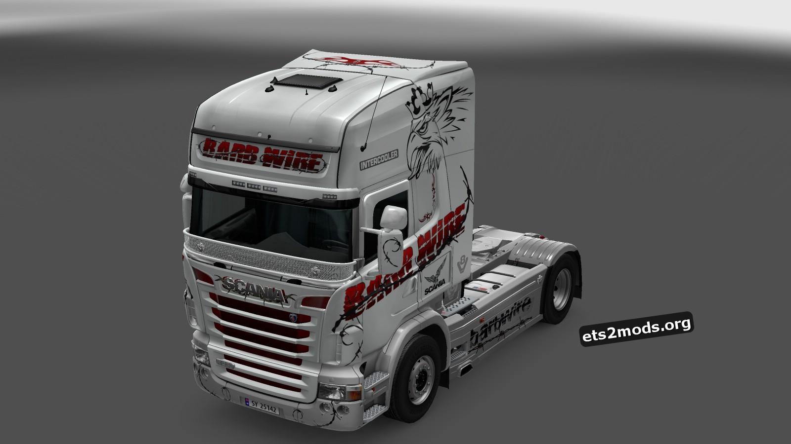 Scania RJL Barbwire Fantasy Skin