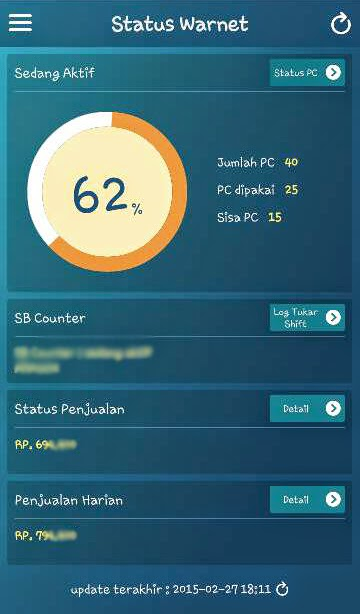 Cara Install Smart Billing Mobile GWarnet (SB Mobile)