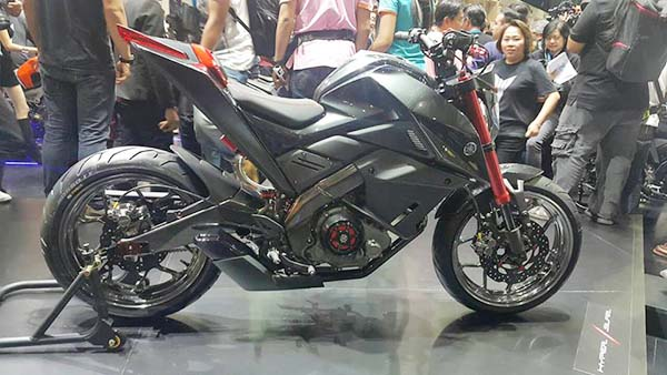 Modifikasi Yamaha Xabre