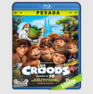 Los Croods Una Aventura Prehistoriaca (2013) HD BrRip 1080p (PESADA) Audio Dual LAT-ING