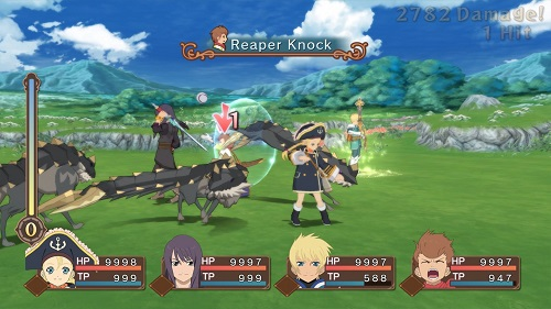 Tales of Vesperia: Definitive Edition Gameplay
