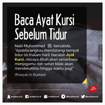 Kata Kata Doa Islami Malam Hari Gambar Islami