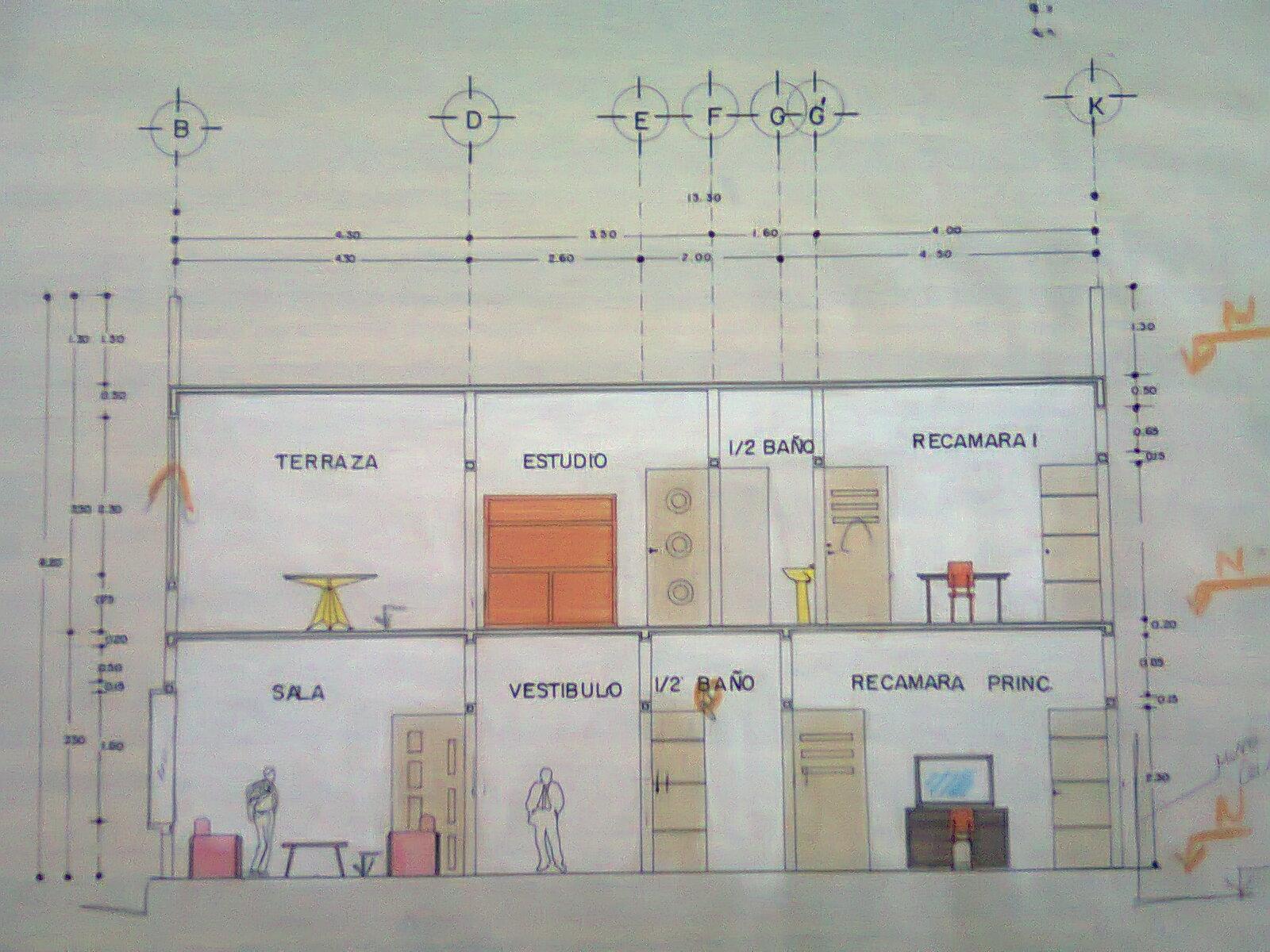 Arodi uicab marin planos arquitect nicos de casa for Programas para disenar planos arquitectonicos