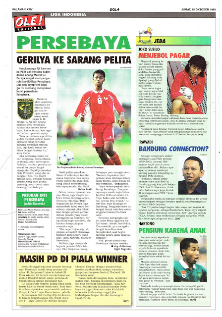 LIGA INDONESIA: PERSEBAYA VS PELITA