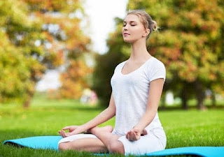 Padmasana Simple yoga exercises to get natural glow on your face