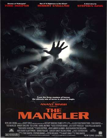 Poster Of The Mangler 1995 Dual Audio 300MB BRRip 576p - UNCUT Free Download Watch Online Worldfree4u