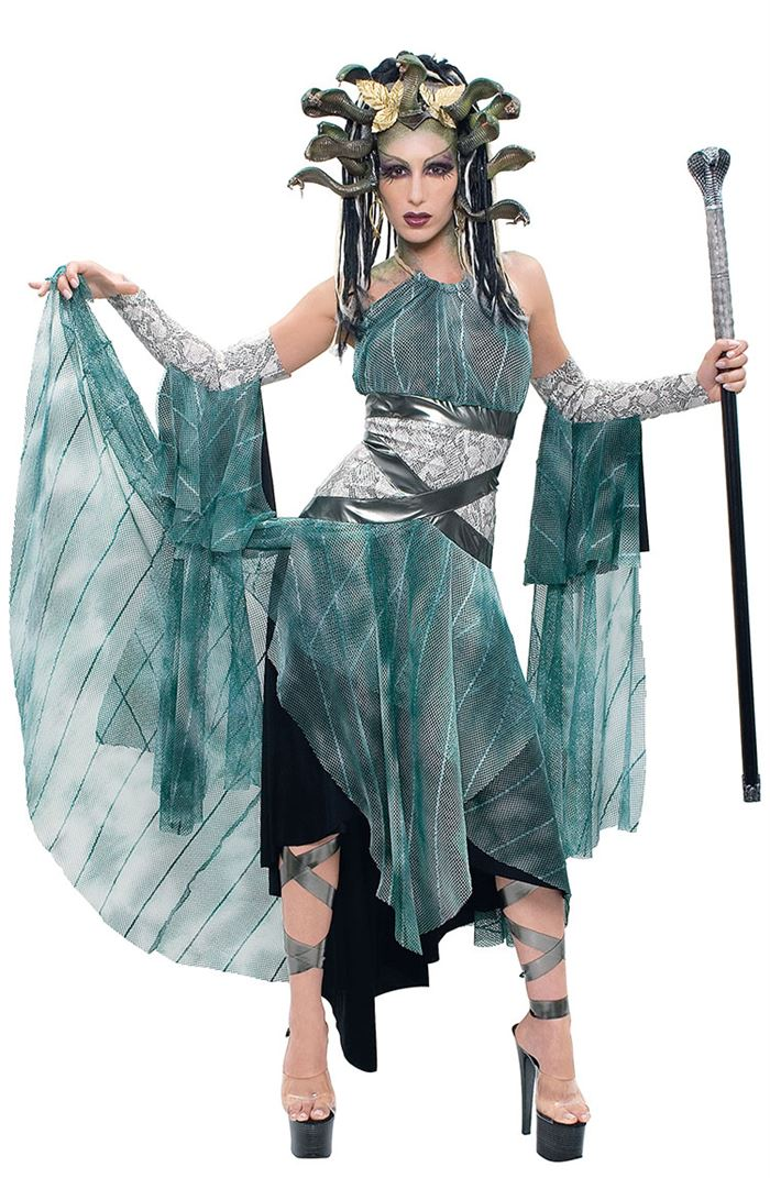 Best Medusa Halloween Costumes For Plus Size
