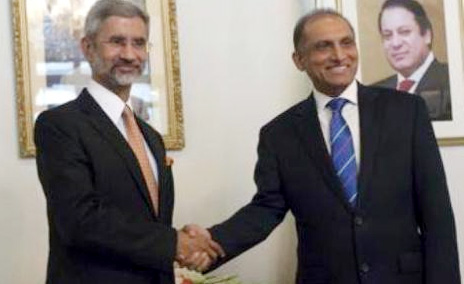 Pakisthan foreign secretary reaches to India on 26th April