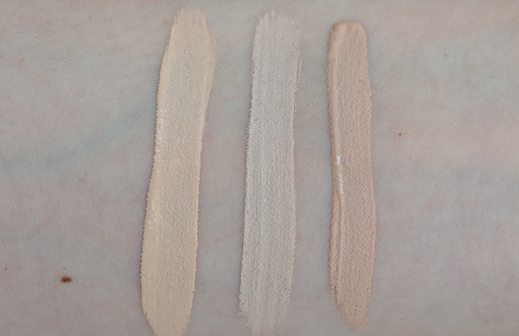 Urband Decay Naked Skin Concealer Light Warm Nars Radiant Creamy Concealer Chantilly Mayblline Fit Me Concealer 15