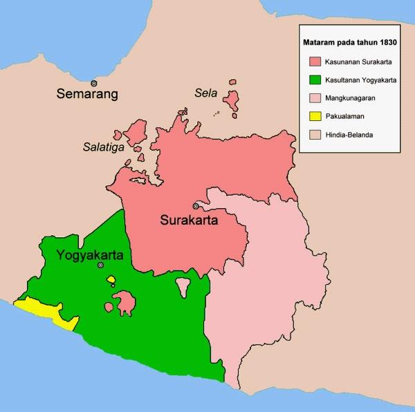 Bali Indonesia Travel Map: Solo Urban Kernel (Surakarta) The ...