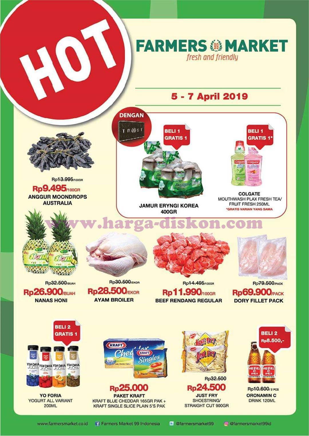 Promo Farmers Market Akhir Pekan 29 Maret 31 Maret 2019 News And Talking