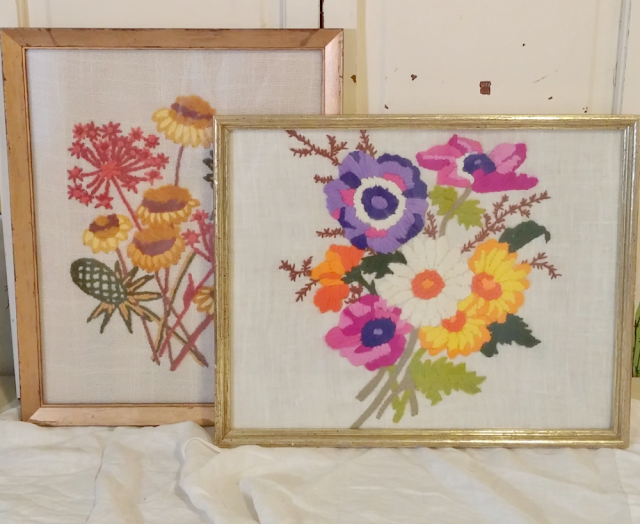 vintage needlepoint pictures